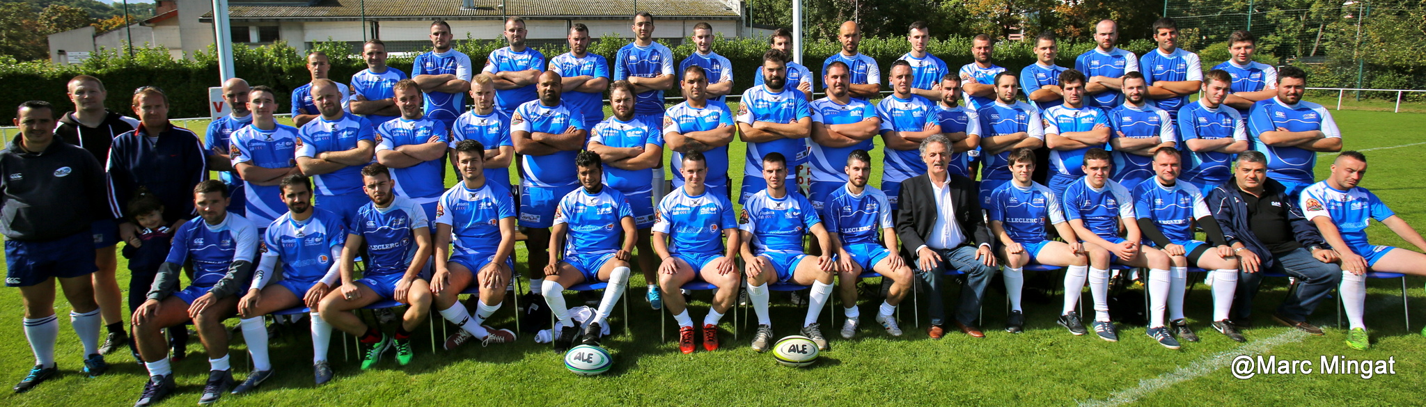 SENIORS: ALE RUGBY - GRENOBLE UNIVERSITE CLUB @ STADE COMMANDERIE